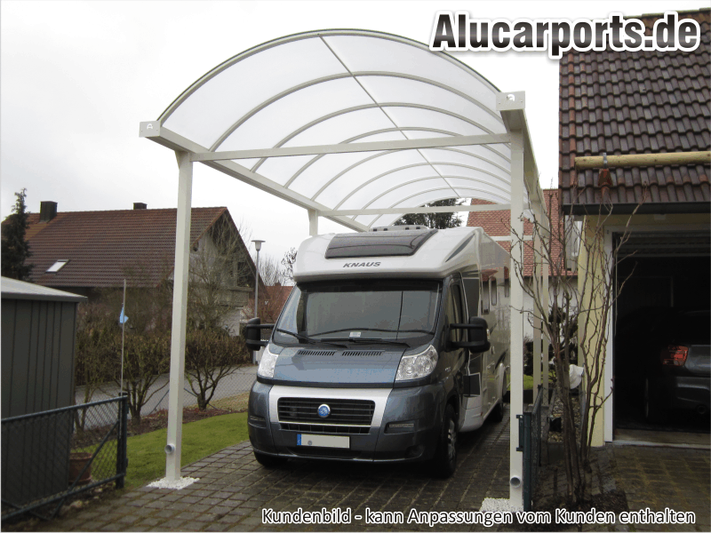 carports f r caravan wohnmobil transporter wohnwagen. Black Bedroom Furniture Sets. Home Design Ideas