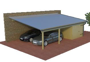 Multi pultdach carports die starken carports mit 125kg m² mit