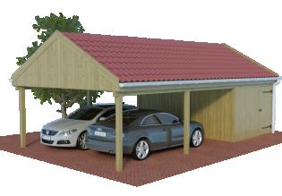 satteldachcarports carport mit satteldach spitzdach mit preis. Black Bedroom Furniture Sets. Home Design Ideas
