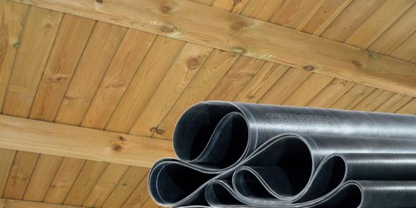 Carport Holzdach Unteransicht
