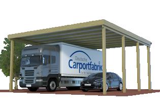 multi caravan doppel carports mit 390m durchfahrtshhe fr wohnmobil